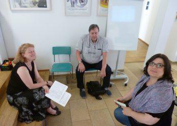 Juli 2016: Erasmus +: Mobilitätenaustausch mit der Volkshochschule Singen-Konstanz