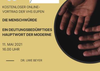 Kostenloser Vortrag: MENSCHENWÜRDE – Ein deutungsbedürftiges Hauptwort der Moderne