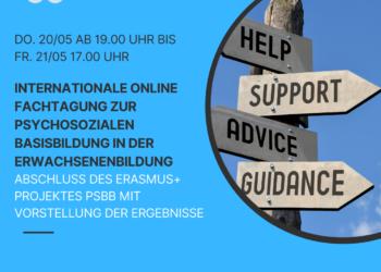 Internationale Fachtagung zur Psychosozialen Basisbildung in der Erwachsenenbildung