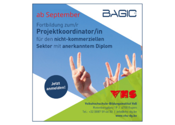 Ab SEPTEMBER: Neue BAGIC-Kursreihe in Projektkoordination